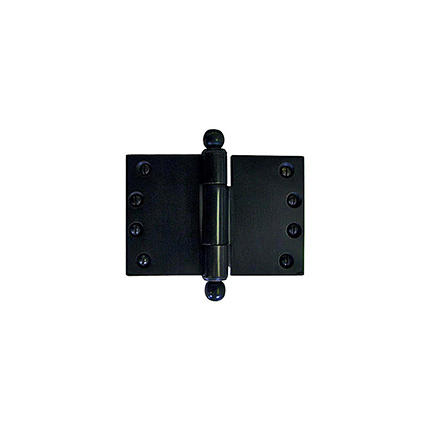 Solid Bronze Heavy Duty 6 inch Wide Throw Hinge