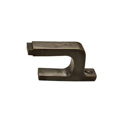 Solid Bronze Contemporary Floor Door Stop