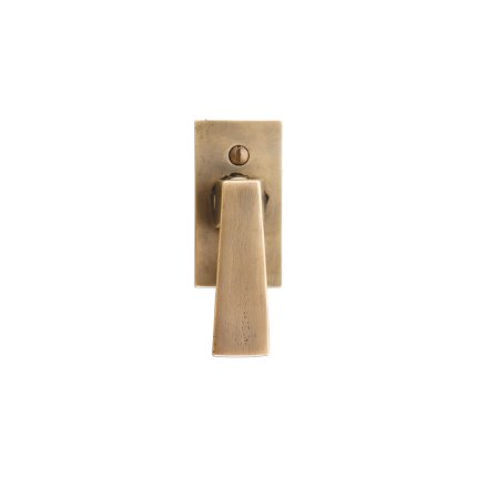 Solid Bronze Manhattan Window Handle
