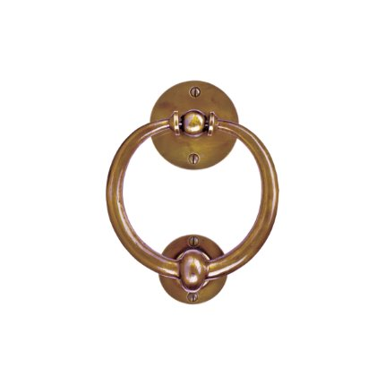 Solid Bronze Ring Door Knocker