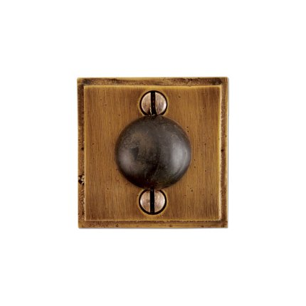 Solid Bronze Wall Door 2 Inch Stop