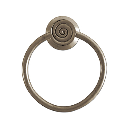 Solid Bronze Casa California Towel Ring