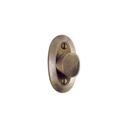 Solid Bronze Oval Robe Hook