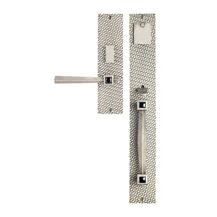 Solid Bronze Amora Royale Thumblatch-Lever Mortise Entry Set