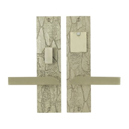 Solid Bronze Canyon Lever Mortise Entry Set