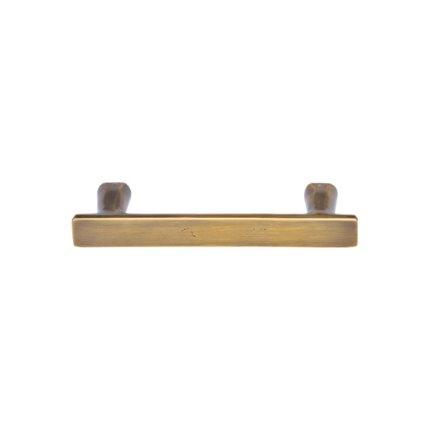 Solid Bronze 5 inch Double Post Drawer Pull
