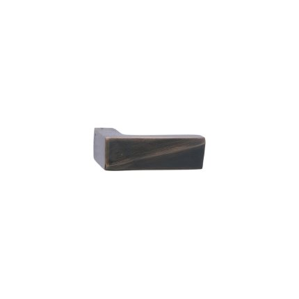 Solid Bronze Milan L-shaped 2 inch Cabinet Pull