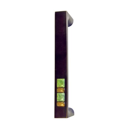 Solid Bronze Scottsdale Royale Door and Appliance Pull 8 inch in Midnight Gold