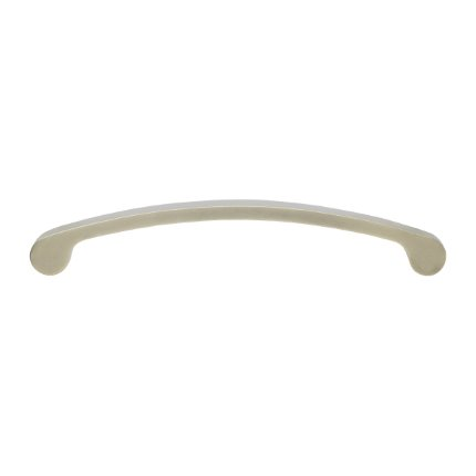 Solid Bronze 8 inch Drawer Pull-Silver Patina