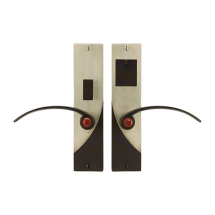 Solid Bronze Soho Royale Handle US Mortise Set