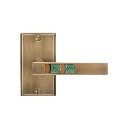 Solid Bronze Scottsdale Royale Lever and Escutcheon