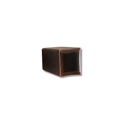 Solid Bronze East-West 1 inch Cabinet Knob