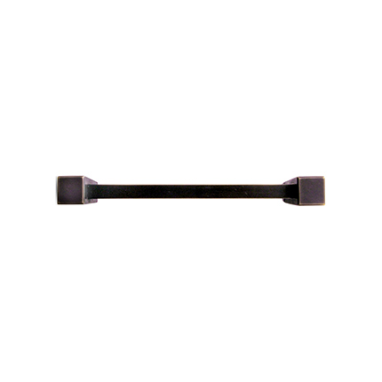 Solid Bronze East-West 8 inch Cabinet Pull