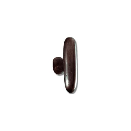 Solid Bronze Oblong 2.5 inch Cabinet Knob