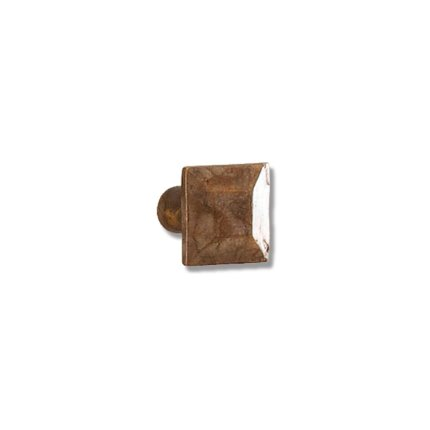 Solid Bronze Pyramid 1 inch Cabinet Knob