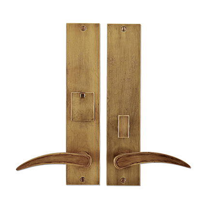 Solid Bronze Fleetwood Lever Mortise Entry Set