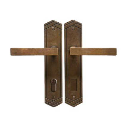 Solid Bronze Scottsdale Lever Multipoint Entry Set