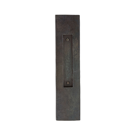 Hand Forged Iron 11 inch Flush Pull