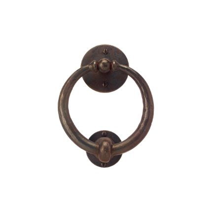 Hand Forged Iron Ring Door Knocker