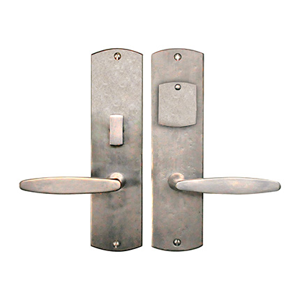 Hand Forged Iron El Secreto Lever Mortise Entry Set