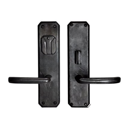 Hand Forged Iron Monte Vista Handle US Mortise Set