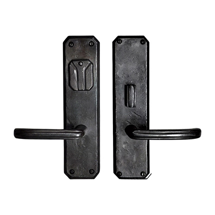 Hand Forged Iron Monte Vista Lever Mortise Entry Set