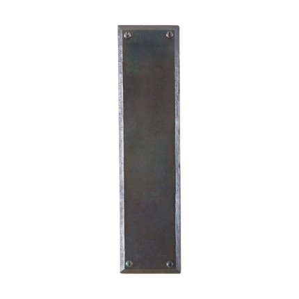 Hand Forged Iron 12 inch Push Plate