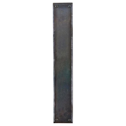 Hand Forged Iron 18 inch Push Plate