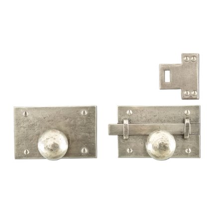 Hand Forged Iron Scottsdale Knob Latch Passage Set