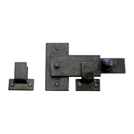 Hand Forged Iron Barn Door Latch