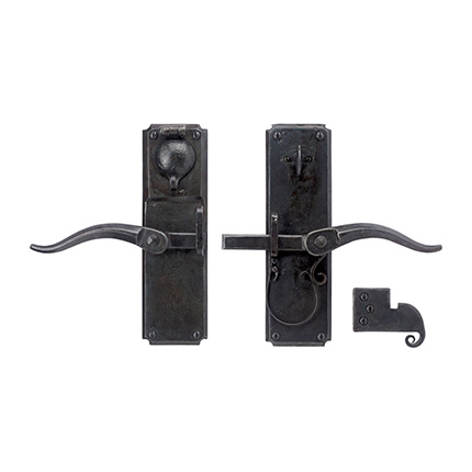Vertical Strike-bar Latch Deadbolt Entry