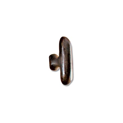 Hand Forged Iron Oblong 2.5 inch Cabinet Knob