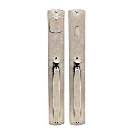 Hand Forged Iron El Secreto Thumblatch Mortise Entry Set